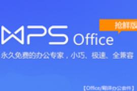 WPS Office 10.1.0.7346 去广告绿色正式版