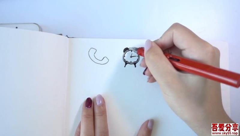 随学随用的零基础手绘课,教你轻松学手绘,0基础也能画出美好人生