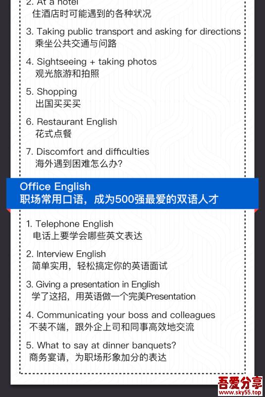 16堂顶级外教实用口语课,让你的英语脱口而出